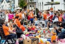 Koningsdag vrijmarkt Rotterdam