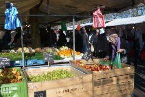 Markt Afrikaanderplein fruitkraam