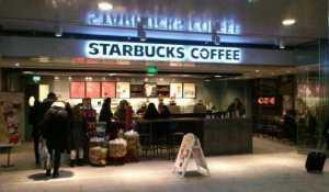 Starbucks koffie Rotterdam Centraal