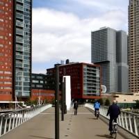 Slider Rijnhavenbrug hoogbouw
