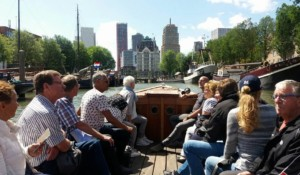 Varen stadshavens sloep Rotterdam